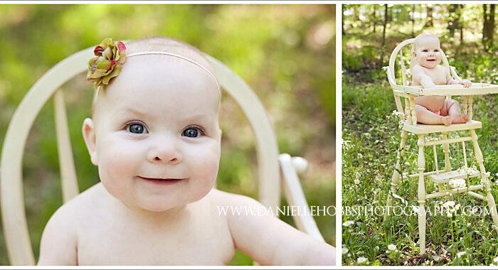 6 months - Centerville VA Baby Photographer