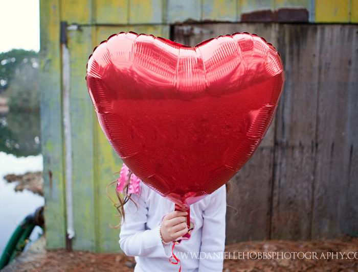Happy Heart Day!  - Columbia SC Child Photographer