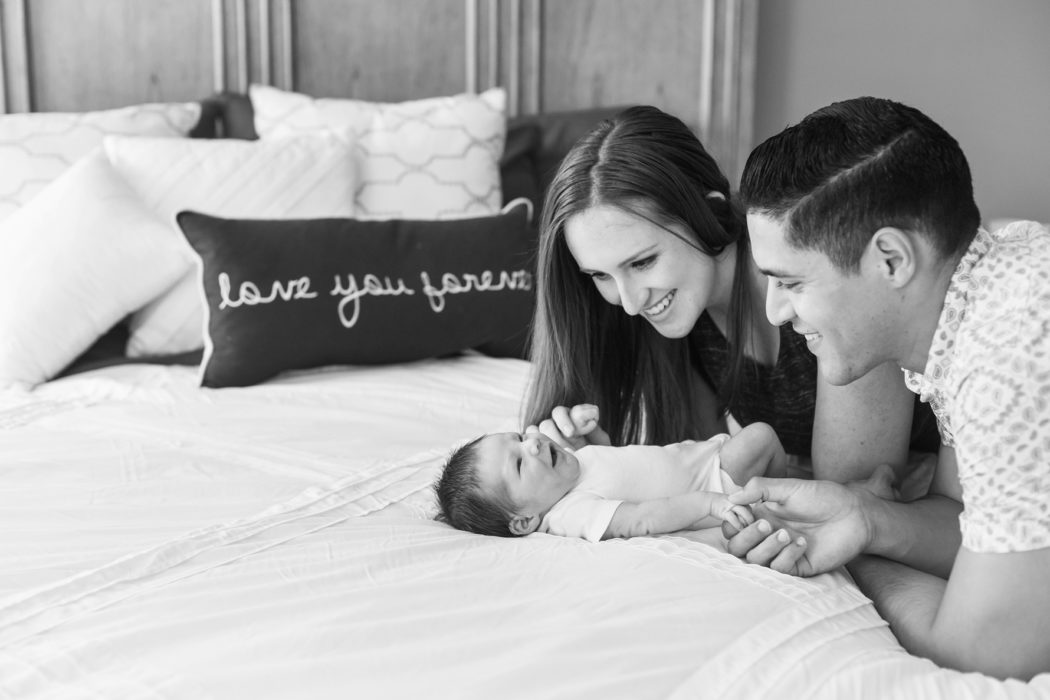 love you family lifestyle newborn photographer DC