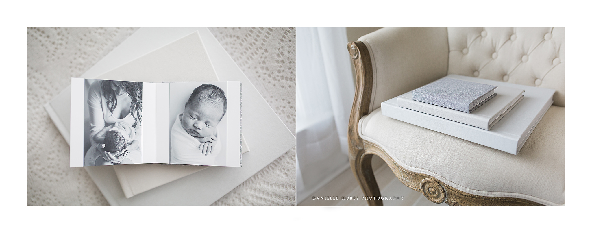 Fine Art Newborn Photography Albums