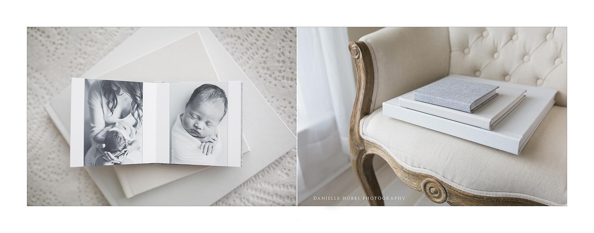Fine Art Newborn Photography Albums