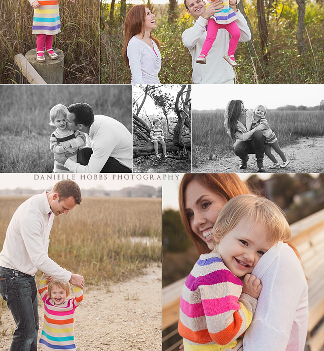 Warm Winter Days -- Mount Pleasant SC Family Photography