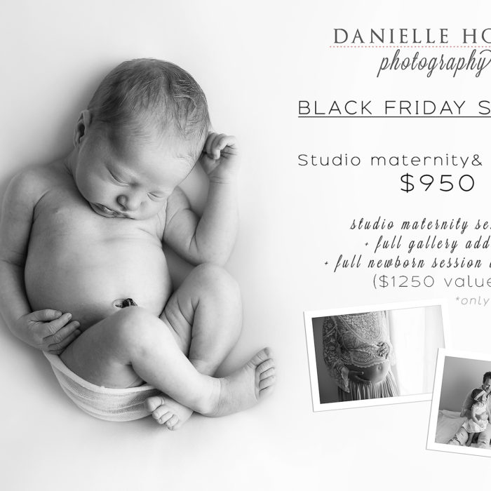 Black Friday Special - Newborn Photography Charleston SC