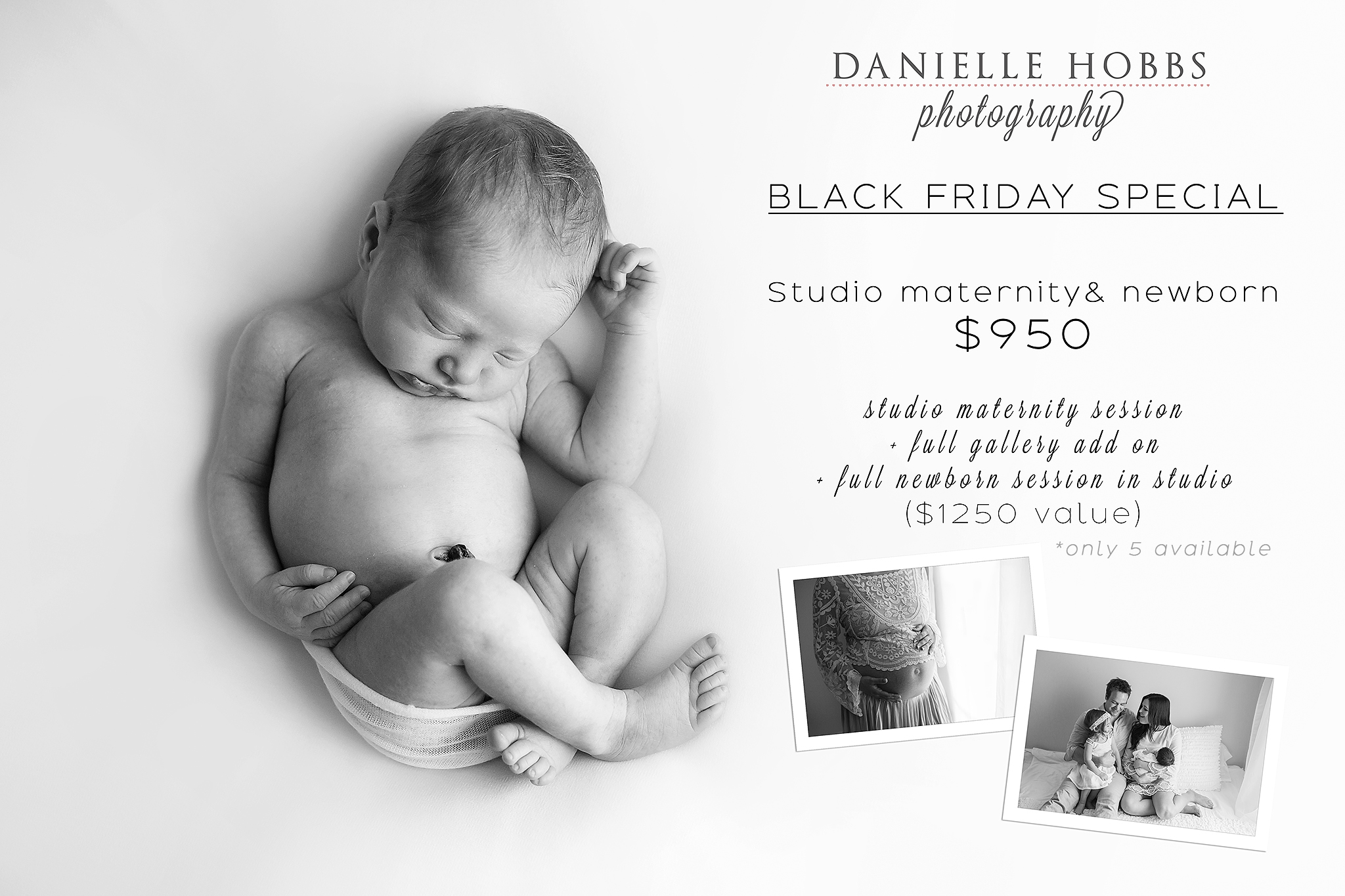 Charleston Newborn Studio Special