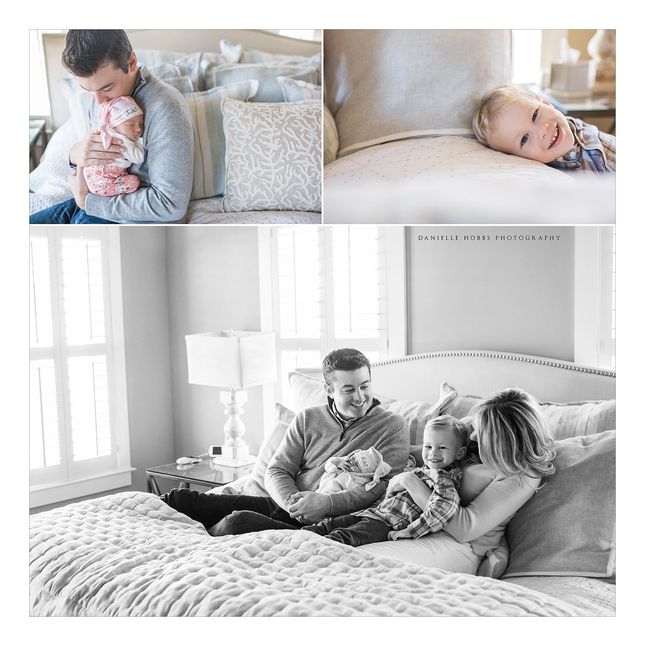 family newborn lifestyle photography