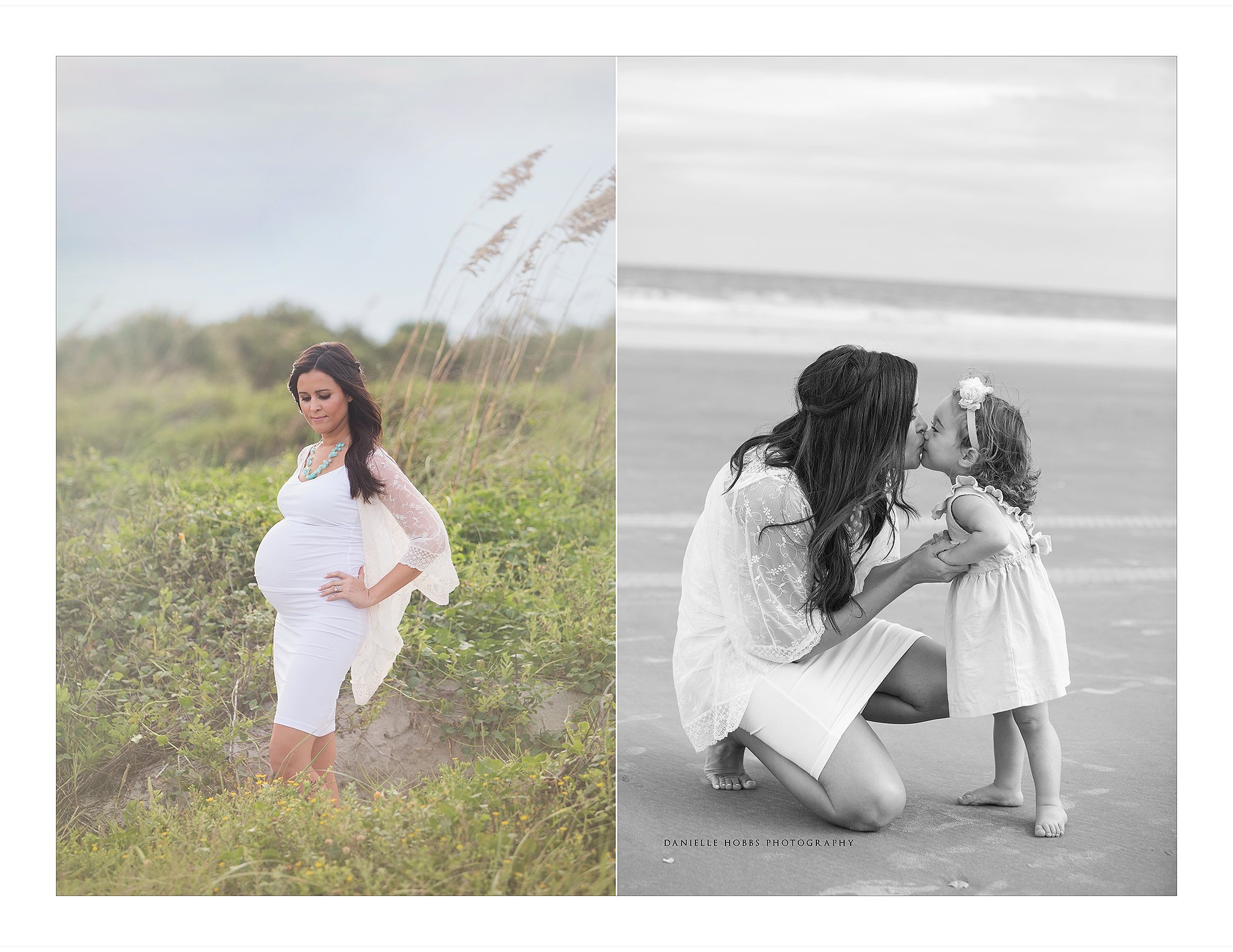 beach maternity photos Northern Virginia