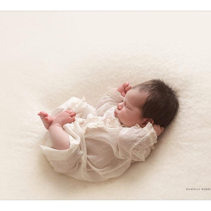 Georgetown, DC - Vintage Lace Newborn