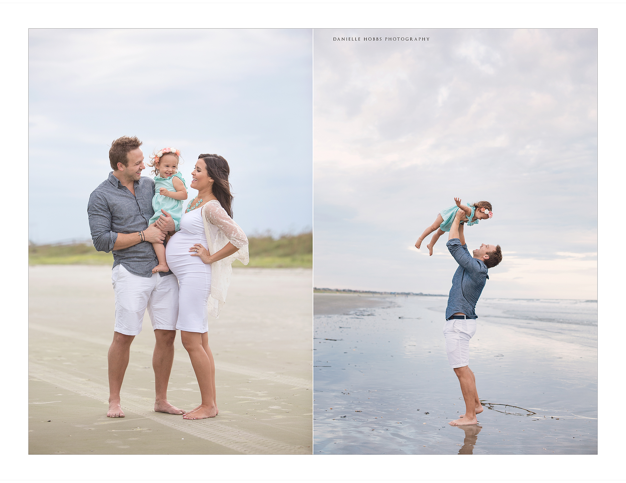 Beach Family Photo Session Northern Virginia