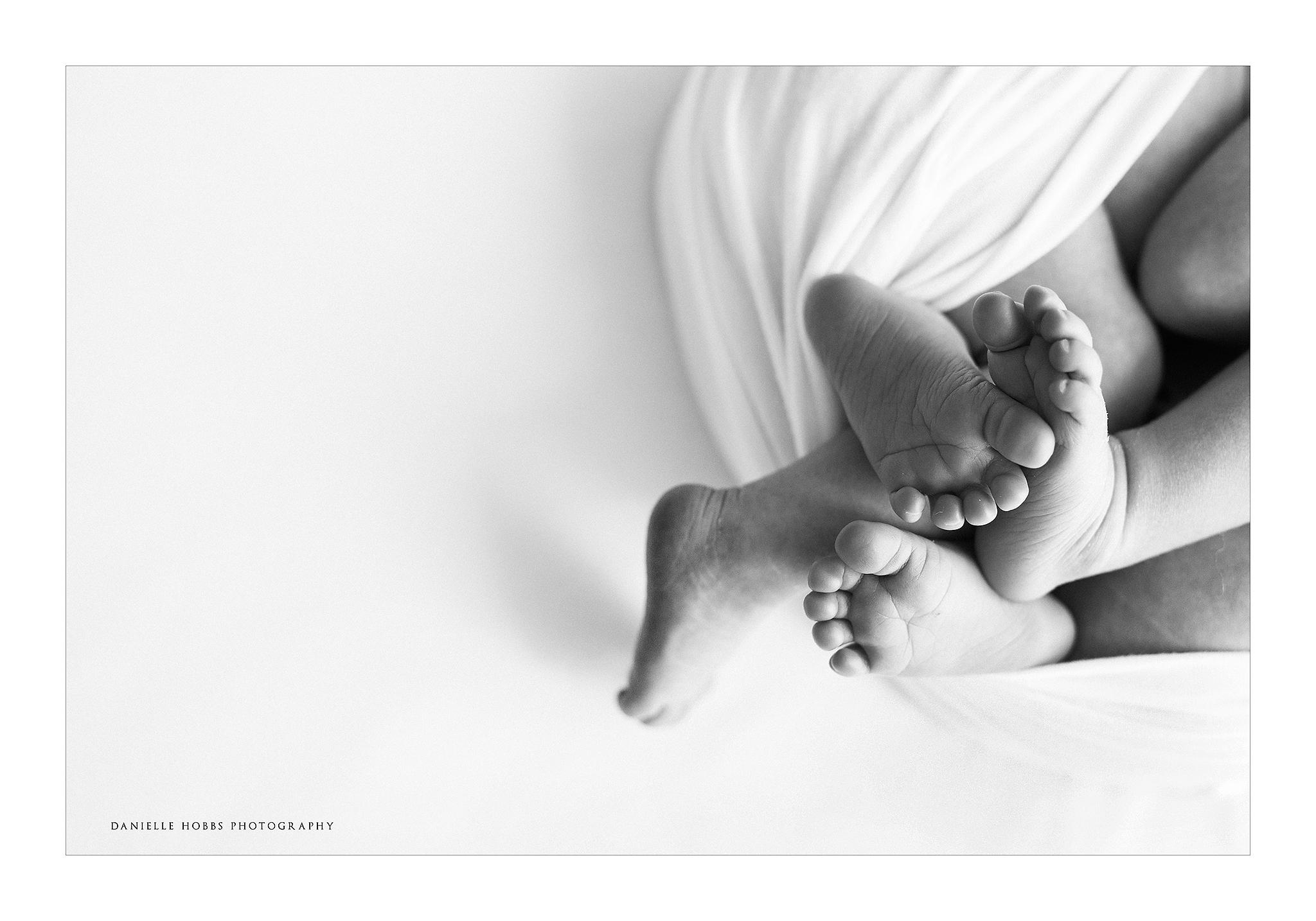 newborn twin baby toes Washington DC
