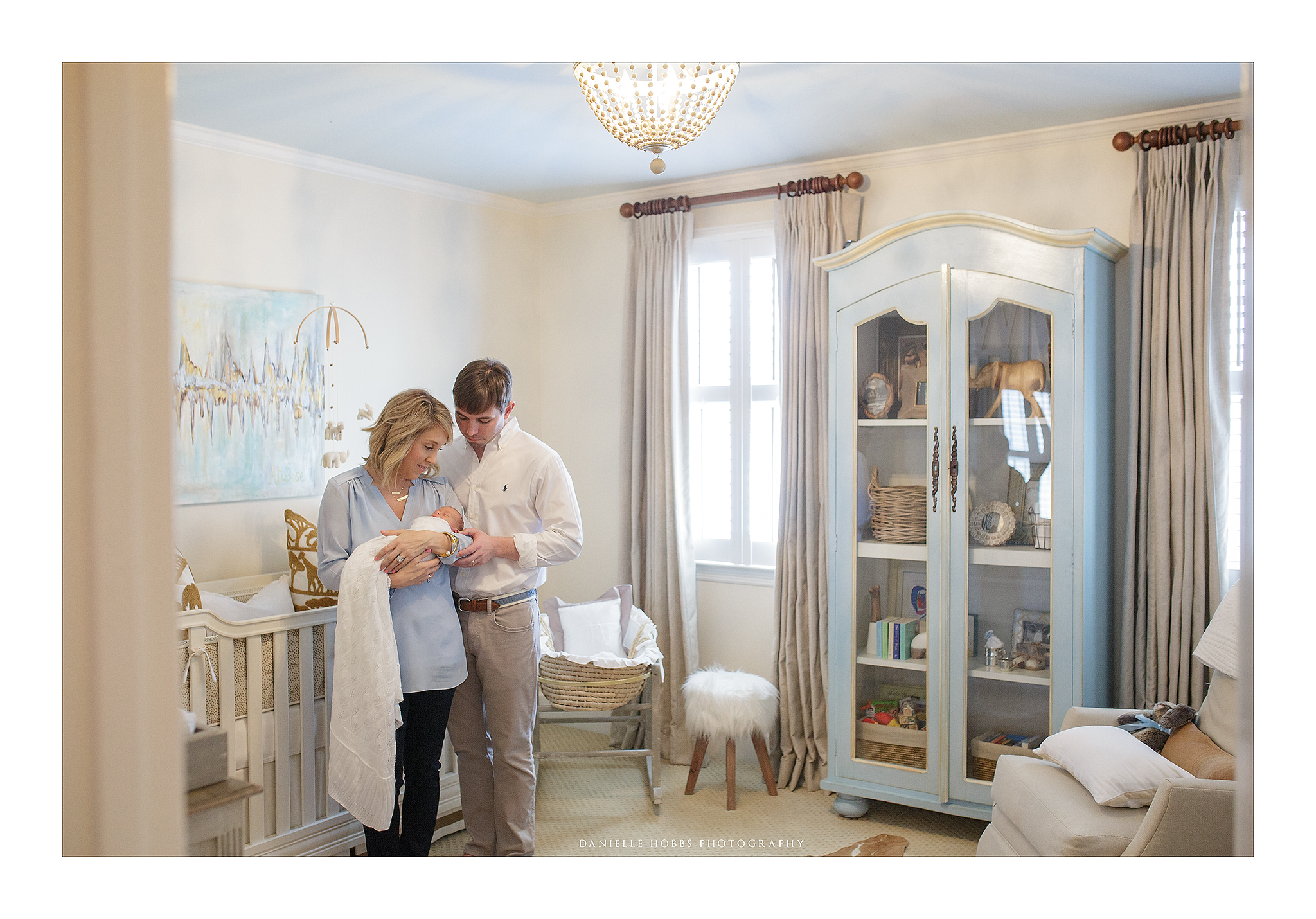 Baby Nursery with family Newborn DC