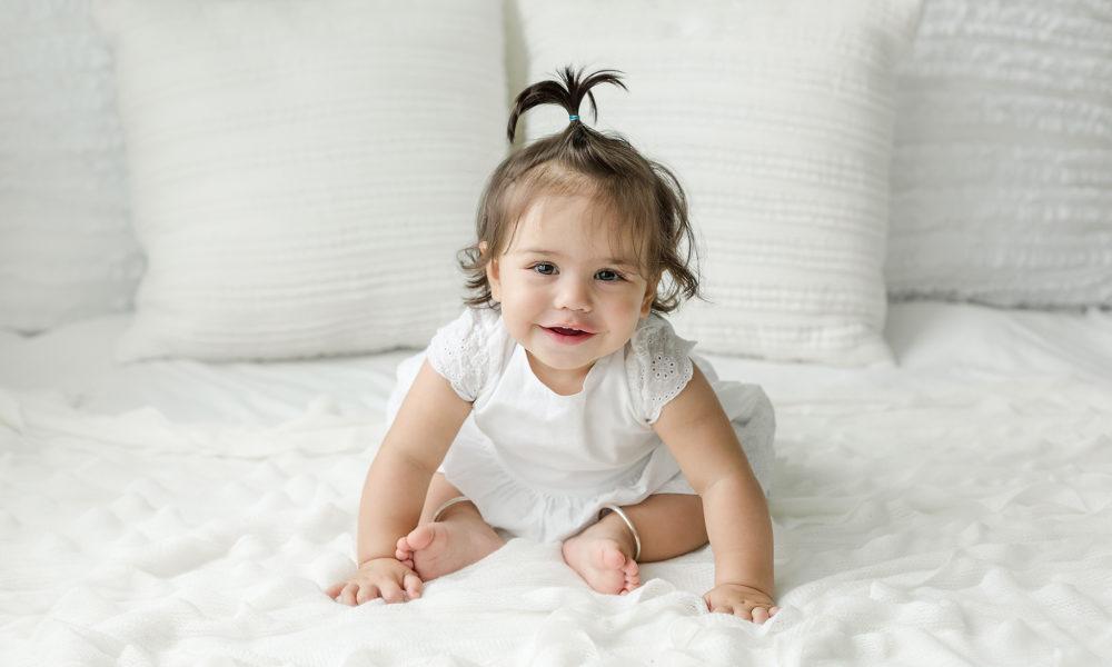 baby milestone portrait washington dc