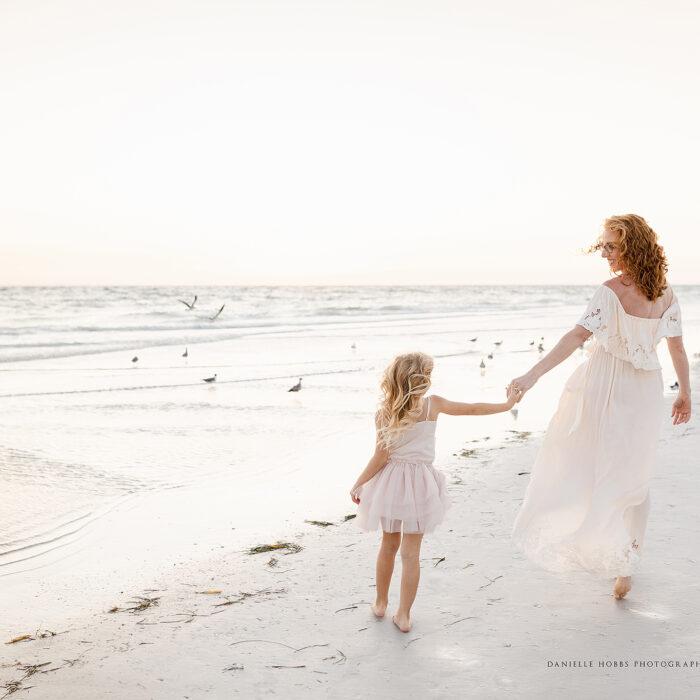 Siesta Key Beach Family Portrait Session | Siesta Key Florida Family Photographer