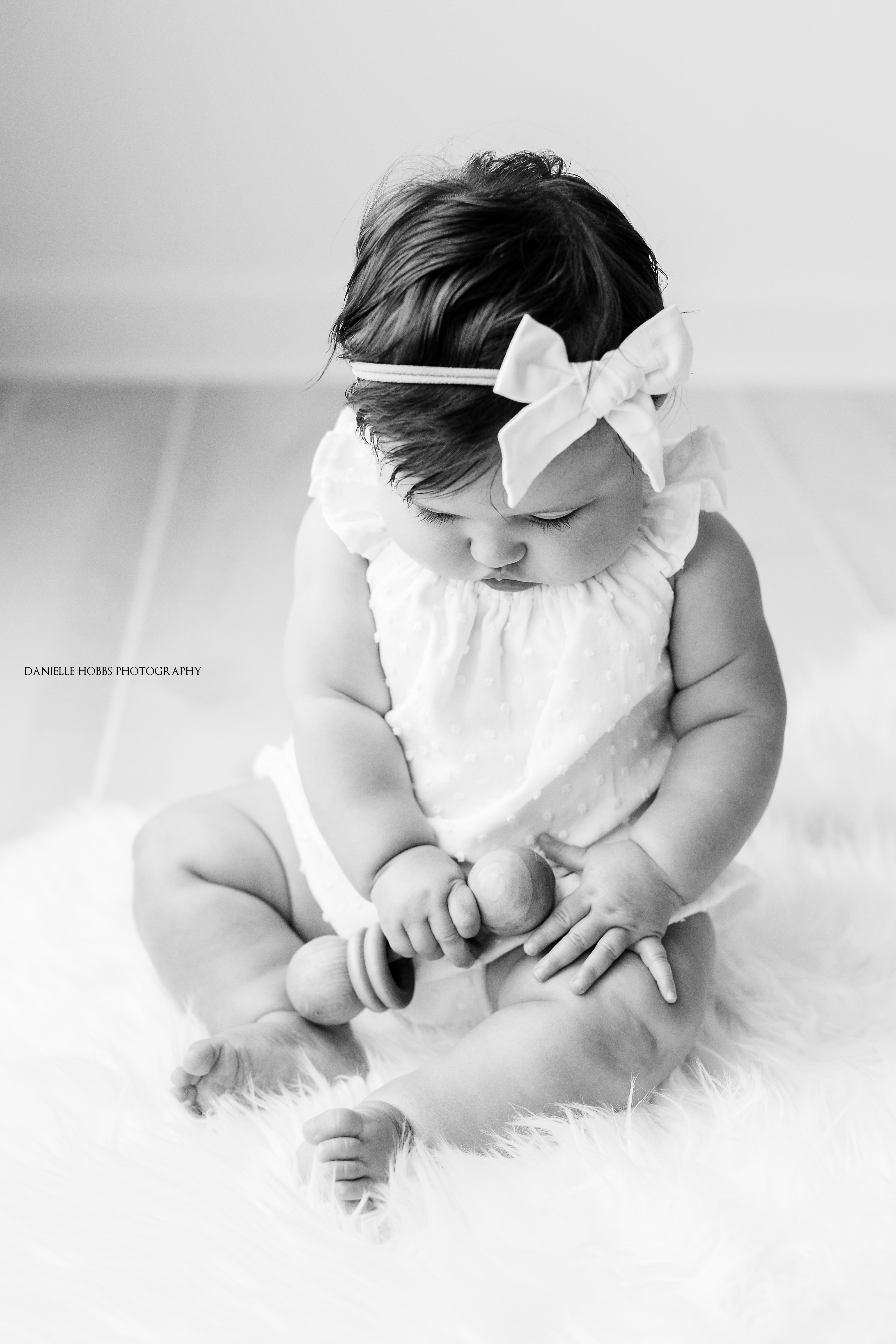 Six Month Old Baby Milestone Session | Washington DC Baby Photographer