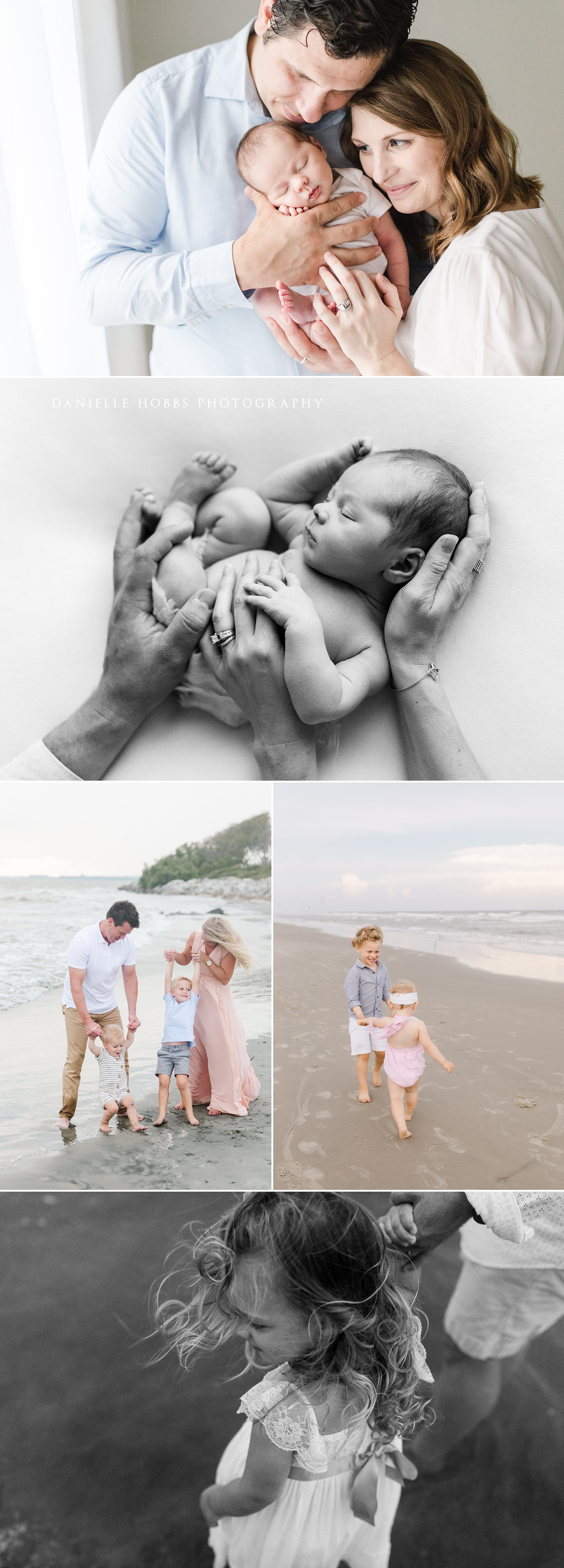 ACR Presets used to edit family and newborn images