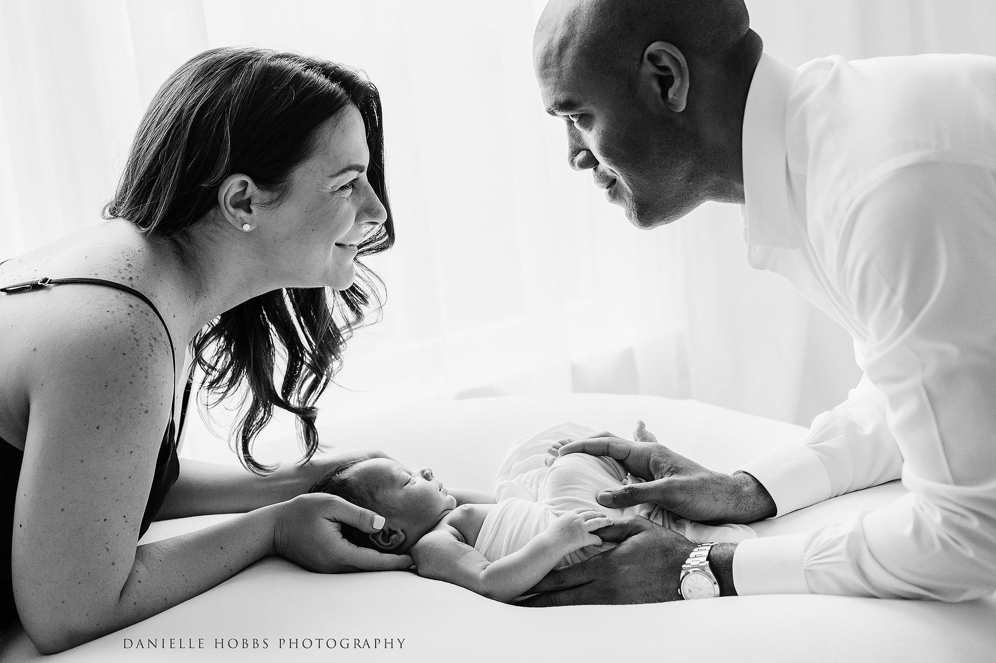 Baby Boy Studio Newborn Session | Warrenton Virginia Newborn Photographer