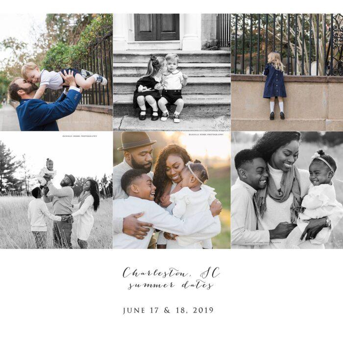 Charleston, SC Summer Sessions 2019