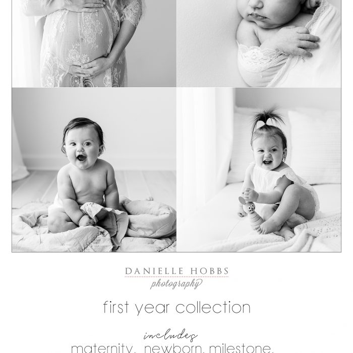 First Year Portrait Collection - DC Northern Virginia Photographer